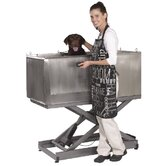 E-Lift Stainless Steel Pet Tub