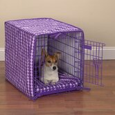 2-Piece Dog Crate Cover and Bed Set