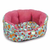 Fruit Frenzy Nesting Dog Bed