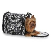 Snow Leopard Pet Carrier n Black