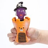 Peek-A-BOO's Witch Dog Toy