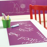 Grape Chalkboard - 4 Sheet Vinyl Peel and Stick