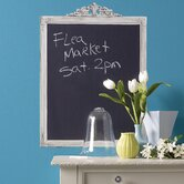 Framed Chalkboard Mural Vinyl Peel and Stick