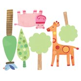 Zoo Baby Peel and Stick Wall Stickers
