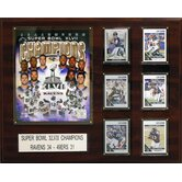 NFL Baltimore Ravens Super Bowl XLVII 8 Card Champions Plaque