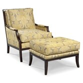 Rayon Standard Chair and Ottoman