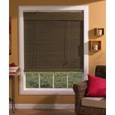 Imperial Matchstick Bamboo Roll-Up Blind with 6&quot; Valance in Willow