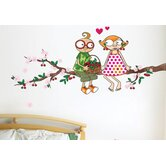 Ludo Time of the Cherries Wall Decal