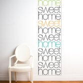 Unik Home Sweet Home Wall Decal