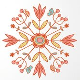 Spot Mandala Wall Sticker