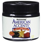American Accents® Canyon Black Stain Craft & Hobby Brush Enamal Paint