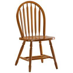 Windsor Side Chair in Oak