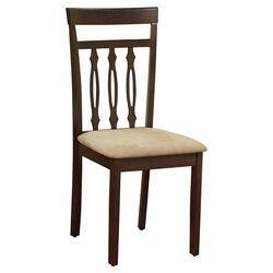 Carson Side Chair in Espresso (Set of 2)