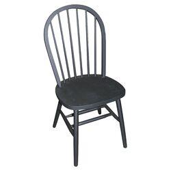 Windsor Side Chair in Black