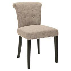 Preston Ring Chair in Light Grey (Set of 2)