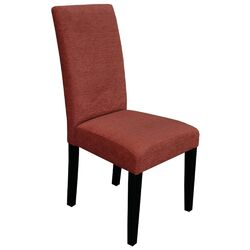 Aprilia Parsons Chair in Orange (Set of 2)