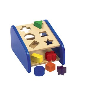 Guidecraft Sort and Match Hide'n Seek Shape Sorter