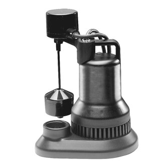 WAYNE 1/2 HP Vertical Float Switch Thermoplastic Sump Pump