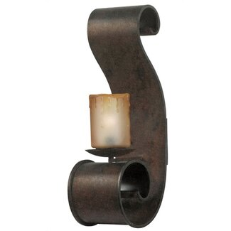 World Imports Adelaide  Outdoor Wall Sconce in Bronze