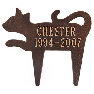 Whitehall Products Silhouette Cat Marker