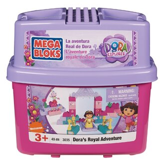 Mega Brands Nickelodeon Dora the Explorer Mega Bloks Royal Adventure