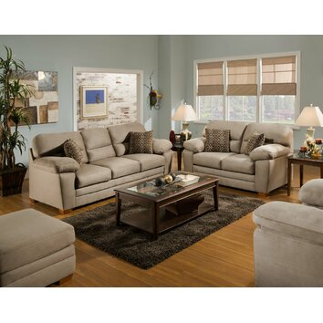 Living room sets wayfair buy sofa and loveseat sets for Furniture of america living room collections