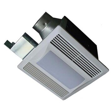 Quiet Bathroom Exhaust Fans on Aero Pure 110 Cfm Energy Star Bathroom Fan With Light   Nightlight