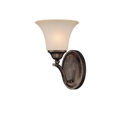 Capital Lighting Towne and Country 1 Light Wall Sconce in Rustic