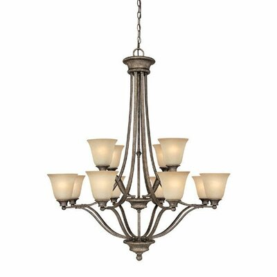 Capital Lighting Belmont 12 Light Chandelier