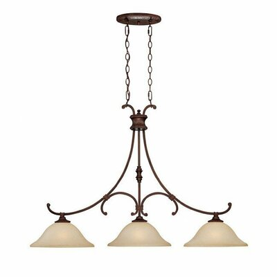 Capital Lighting Hill House 3 Light Kitchen Island Pendant