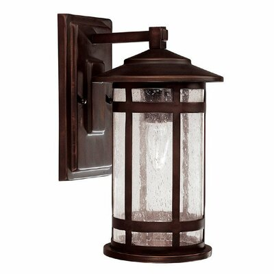 Capital Lighting Mission Hills 1 Light Outdoor Wall Lantern