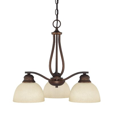 Capital Lighting Stanton 3 Light Chandelier