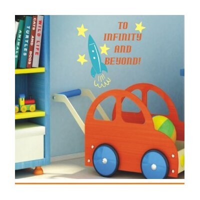 Alphabet Garden Designs To Infinity and Beyond Wall Decal