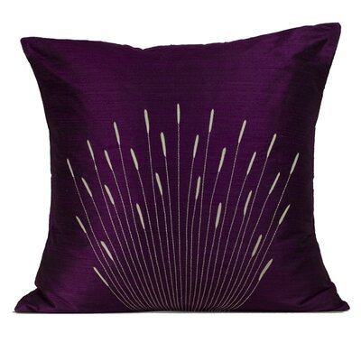 Jiti Branches Silk Decorative Pillow