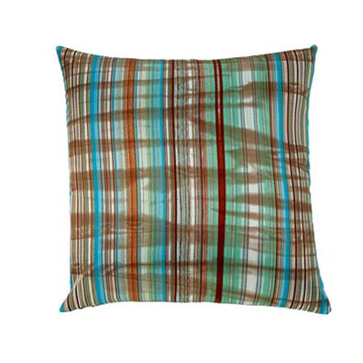 Jiti Pillows Stripes Square Polyester Decorative Pillow