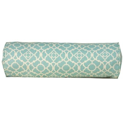 Jiti Pillows Moroccan Outdoor Neckroll Decorative Pillow in Blue