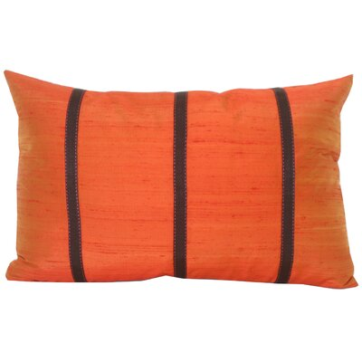 Jiti Pillows Pieces Decorative Pillow in Orange