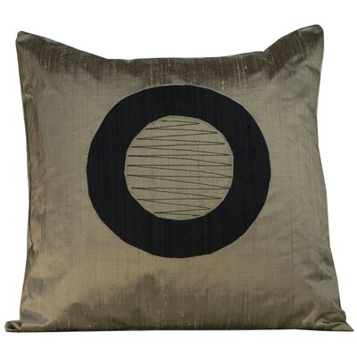 Jiti Pillows Washer Decorative Pillow in Light Brown