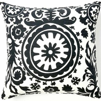 Jiti Pillows Suzani African Square Cotton Pillow