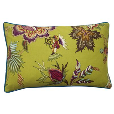 "Jiti Pillows Jazmine 12"" x 20"" Pillow in Plum"