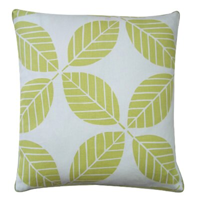 Jiti Pillows Tiki Leaves 20&quot; x 20&quot; Pillow in Lemon
