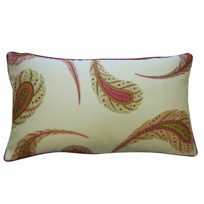 Jiti Pillows Peacock Satin Cotton Pillow