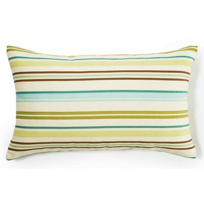 Jiti Pillows Thin Horizontal Stripes Outdoor Decorative Pillow