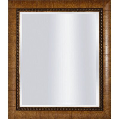 Gold Beveled Mirror - 30