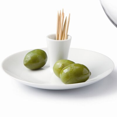 Goods Porcelain and Glass Olive Dish