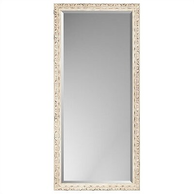 Rectangle Aged Cream Design Mirror