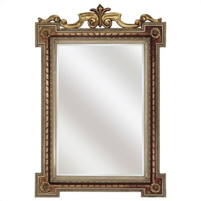 Rectangle Golden Grandeur Mirror