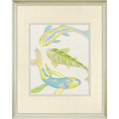 "Paragon Jade Koi I by Zarris Contemporary Art - 42"" x 34"""