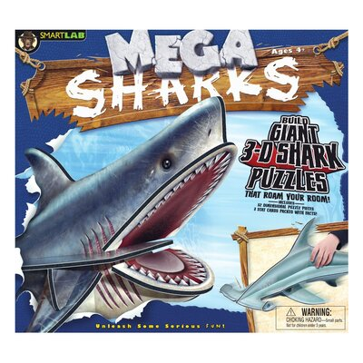 Smart Labs Mega 3D Puzzle Play Sharks Kit
