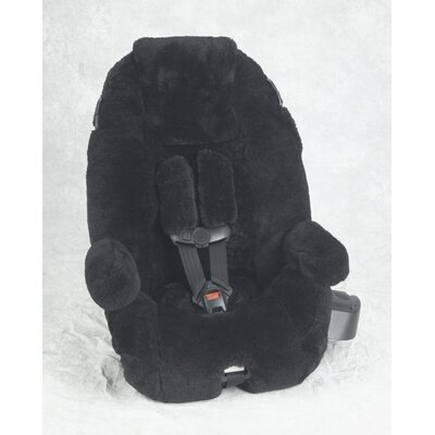Ba Ba Seatskins Custom Sheepskin Convertible Car Seat Cover